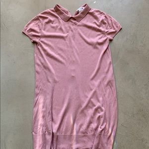 Lacoste dress size 42 or large rose color